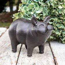 pig animals statues lawn ornaments ebay