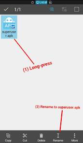 superuser apk how to replace kinguser kingo superuser with supersu via file