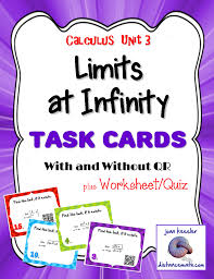 calculus working with limits flip book calculus graphic