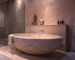 japanese bathroom contemporary design with glass shower stall and