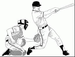 baseball bat coloring pages baseball glove coloring page baseball glove ball and bat coloring