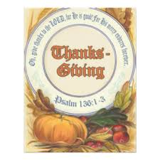bible verse thanksgiving invitations announcements zazzle