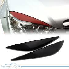 mercedes c class headlights mercedes benz c class w204 headlight eyelids eyebrows 08 11 ebay