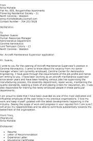 ideas collection sample of application letter for supervisor