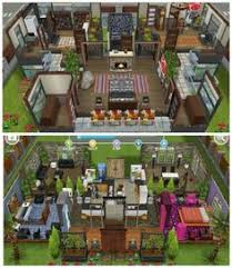 Sims Freeplay House Floor Plans House 108 French Chateau Ground Level Sims Simsfreeplay
