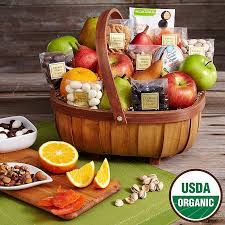 organic fruit basket top 5 unique gift baskets for christmas what the pros send