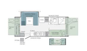 Outback Floor Plans Jayco Floorplan For The Basestation 21 66 6 Caravan Layouts