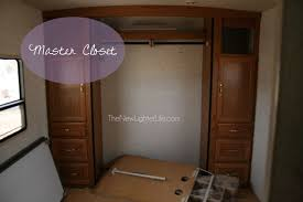 Class A Motorhome With 2 Bedrooms Rv Bunk Remodel Turning A Class A Master Bedroom In A Bunkroom