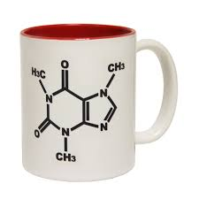 funny mugs caffeine chemical structure coffee mug addict nerd geek