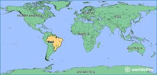 de janeiro on the world map where is brazil where is brazil located in the world brazil