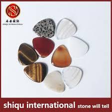 wholesale handmade semi precious guitar picks quartz