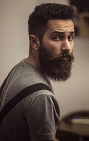 mens earring styles i don t dig the earrings but beard barbas beards