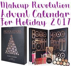 makeup advent calendar makeup revolution advent calendar 2017 spoilers ships worldwide