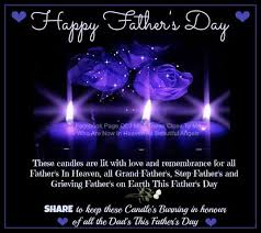 happy fathers day in heaven those to me who are