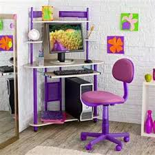 small bedroom computer desk purple kids computer desk and chair with storage for small bedroom