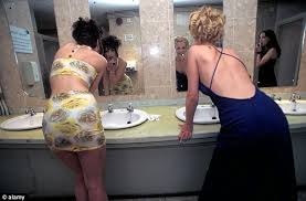 One Way Mirror Bathroom by Glasgow U0027s Shimmy Club Install Two Way Mirror In Women U0027s Toilets So