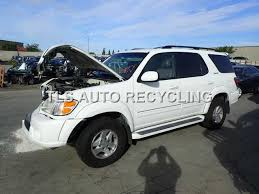 used toyota sequoia parts parting out 2002 toyota sequoia stock 4104gy tls auto recycling