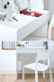 Makeup Vanity Table Ideas Desk White Diy Vanity Table With Shelf Underneath For Make Up