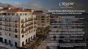 International Marketing Director Job Description Regent Hotels U0026 Resorts Linkedin