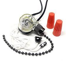Ceiling Fan Light Pull Chain Switch Zing Ear Ceiling Fan Light Lamp Replacement Pull Chain Switch Ze
