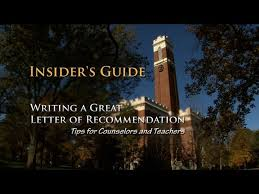how to address college recommendation letters 9 steps