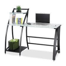 Officemax Glass Desk Glass Workstation Desk Zamp Co