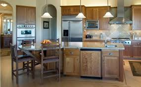 kitchen island with attached table kitchen unfinished woode kitchen island design ideas with