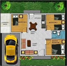 2 bedroom house plan in the philippines house home plans ideas