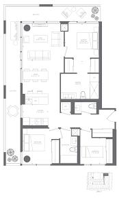 Kaufman Lofts Floor Plans by 3 Bedroom Lofts Mezzo Design Lofts1 2 3 Bedroom Studio Apartments