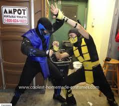 Scorpion Costume Scorpion Mortal Kombat Costume Kids