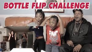 Water Challenge Mo Mo Vlogs Water Bottle Flip Challenge Bmk Posse Reaction