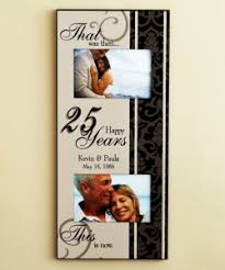 25th anniversary gifts for parents anniversary gift ideas for your parents