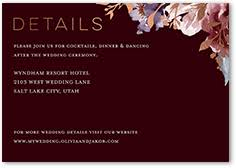enclosure cards enclosure cards for wedding invitations shutterfly
