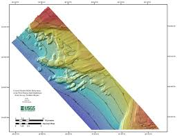 West Florida Map by Seafloor Mapping West Florida Shelf Northern Region Shaded