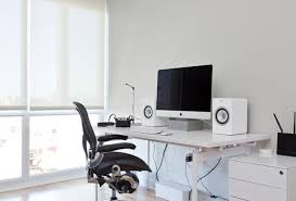 ergonomic lay down desk how to design a healthy home office that increases productivity