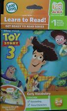 leap frog tag junior disney pixar toy story 3 book 2 4 ebay