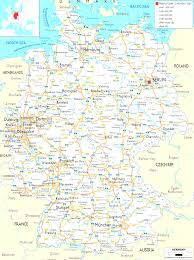 Map Og Germany by Map Of Germany Cities And Towns Evenakliyat Biz