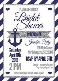 nautical bridal shower invitations nautical bridal shower invitations negocioblog