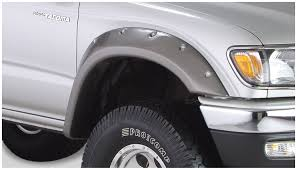 bushwacker 31919 02 cut out fender flares fits 95 04 tacoma