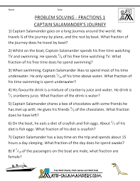 math problem fractions 3rd grade math word problems site fractions 1 captain salamanders