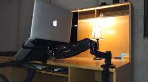 loctek monitor u0026 laptop desk mount review youtube