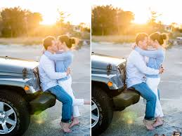 jeep couple molly u0026 michael u0027s engagement session in cohasset ma u2014 mikhail