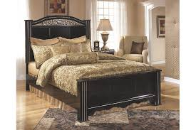 constellations king poster bed ashley furniture homestore