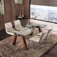 tavoli moderni legno tavoli da pranzo dal design moderno allungabili e fissi di