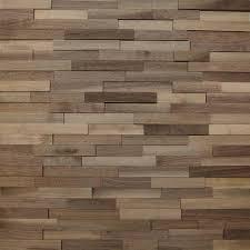 wallure striped walnut narrow sleek wooden wall panel