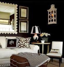 Best BLACK  WHITE ROOMSDECOR Images On Pinterest White - Black and white family room