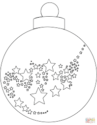 ornaments coloring pages printable starsnues me