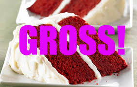 real red velvet cake with no food coloring or beet juice have