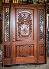Carved Exterior Doors Custom Doors Wood Doors Made To Order