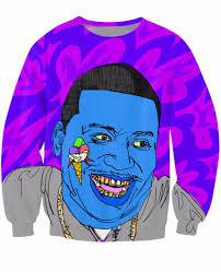 gucci mane sweater gucci mane trap god purple sweatshirt